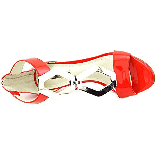 BCBGeneration puntera abierta Cayce Mujer Sintético sandalias Candy Red