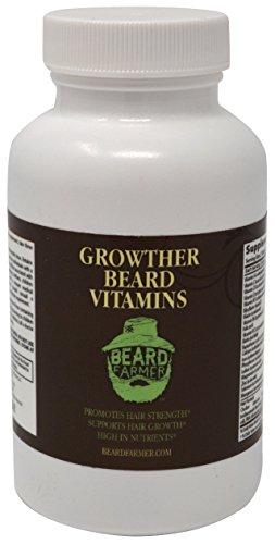 Beard Farmer Growther Growth Oil Grow Your Fast All Natural Bear New