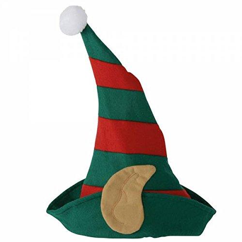 weihnachtsm š ¹ tzen Cappello di Babbo Natale  Amazon.it  Giochi e  giocattoli 15e51403b86b