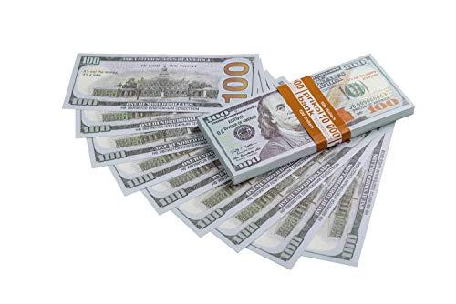 Olshop Play Money New 100$ Dollars Bills -