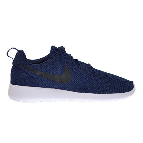 Nike Rosherun Hommes Chaussures Midnight Marine / Noir Blanc 511881-405, Mezzanotte Marine / Nero Bianco, 42 D (m) Eu / 7.5 D (m) Uk