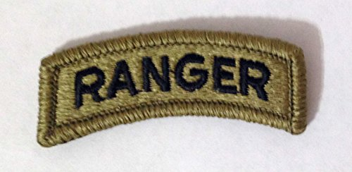 Ranger Arc Tab Multicam OCP Scorpion Camo Hook Fastener Patch Made in USA