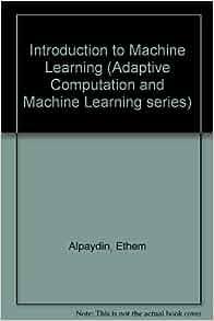 alpaydin machine learning