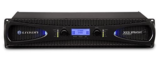 - Crown XLS2502 Two-channel, 775W at 4Ω Power Amplifier