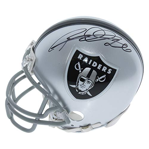 Rod Woodson Oakland Raiders Autographed Signed Riddell Mini Helmet - JSA Certified Authentic