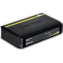 TRENDnet TEG-S5g 5-Port Unmanaged Gigabit Greennet Switch Auto-Negotiation, Auto-Mdix Gigabit Ethernet Ports Teg-S5G (Black Plastic)