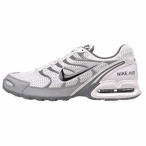 Nike Heren Air Max Fakkel 4 Hardloopschoen Wit / Antraciet-wolf Grijs