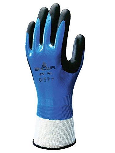 昭和手袋SHO477-XXL No.477断熱手袋、サイズ:XX大、白/青/黒  B01MQTF6W0