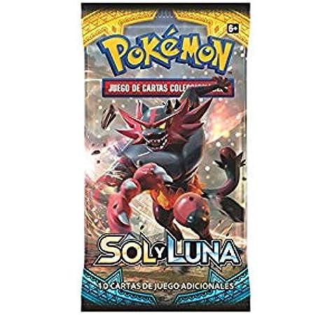 Pokemon JCC-Sobre Cartas Pokemon Sol y Luna-Español, Color (ASMODEE POSMSL02): Amazon.es: Juguetes y juegos
