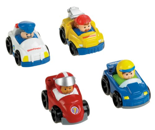 Fisher-Price Little People Wheelies All About Racing (About A Boy Characters)