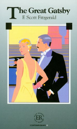 Book cover for The Great Gatsby