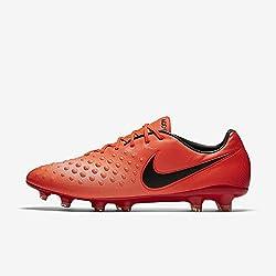 Nike Men's Magista Opus Ii Fg Soccer Cleat (Sz. 8) Total Crimson