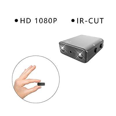 2017 Newest IR-CUT Spy Camera Smallest 1080P Full HD DVR Hidden Cameras Mini Camcorder Micro Infrared Night Vision Cam Motion Detection DV
