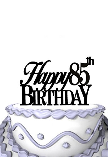 Image Unavailable Not Available For Color Meijiafei Happy 85th Birthday Cake Topper Grandma