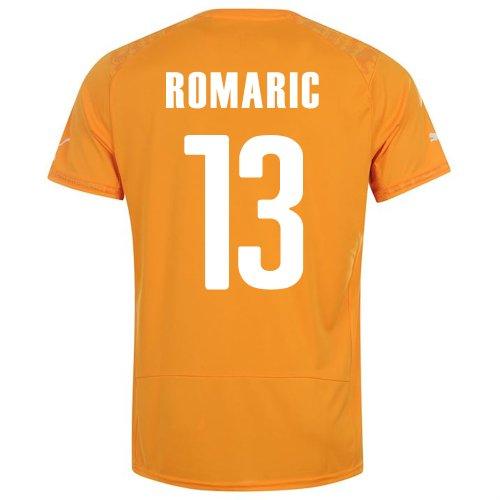 手配するが欲しいボクシングPUMA ROMARIC #13 IVORY COAST HOME JERSEY WORLD CUP 2014/サッカーユニフォーム コートジボワール ホーム用2014 背番号13 ロマリック