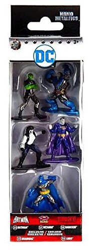Nano Metalfigs DC Comics 5-Pack Set 3