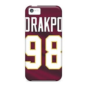 Awesome Design Washington Redskins Hard Case Cover For Iphone 5c