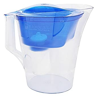 New Wave Enviro Barrier Water Filter Pitcher Grand Blue    1 Set
