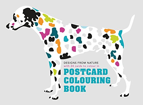 Postcard Coloring Book: Designs from Nature with 24 Cards to Color In (Colouring Books) Graphic Design Postcards