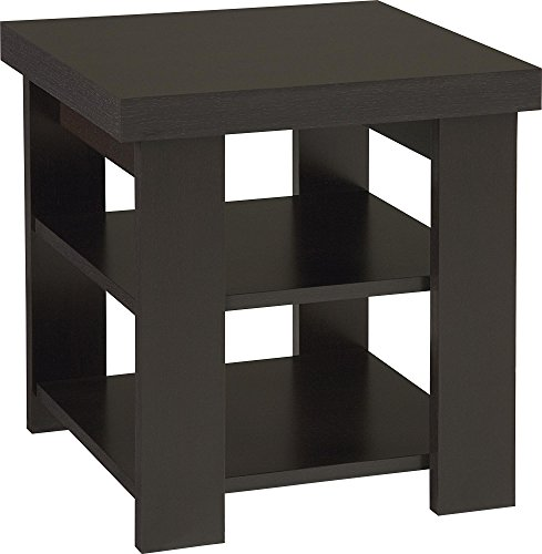Altra Jensen End Table, (Contemporary Wood Finish End Table)