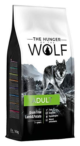 The Hunger of the Wolf Trockenes Hundefutter für erwachsene Hunde, ohne Getreide mit Lamm und Kartoffeln, alle Rassen…
