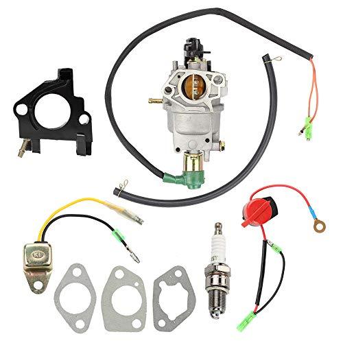 Mannial Carburetor Carb fit PowerMax & DuroMax XP8500E XP8500E-CA XP10000E XP10000E-CA Wen Power Pro 56875 8750E 8750 56877 9000E 56900 9000 420CC Generator