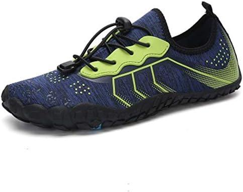 アンチカット屋外漂流潮潮流靴裸足遊び水ビーチソックス水泳女性と男性速乾性柔らかい靴(グリーン) ポータブル (色 : Green, Size : US7)