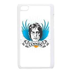 iPod Touch 4 Case White John Lennon 003 WON6189218047350