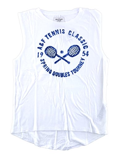 Abercrombie   Fitch Womens Muscle Tank Top Small White 0576 001