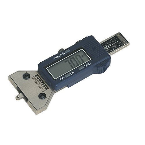 Sealey VS0560 Digital Tyre Tread Depth Gauge Jack Sealey TRTA11A1913 SEAVS0560