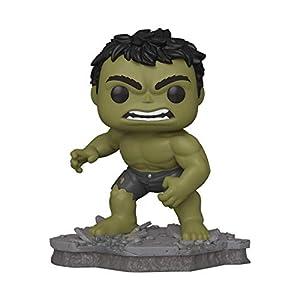 Funko Pop! Deluxe, Marvel: Avengers Assemble Series – Hulk, Amazon Exclusive, Figure 2 of 6