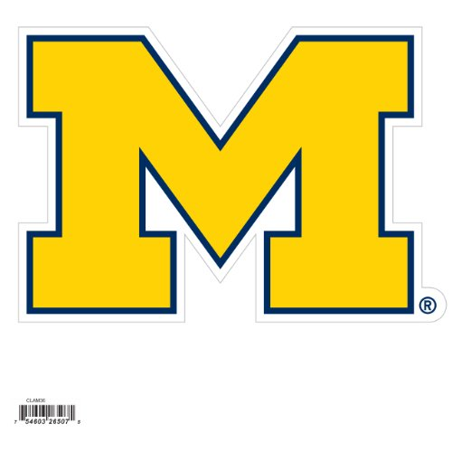 (Siskiyou NCAA Michigan Wolverines Automotive Magnet, 8-Inch)