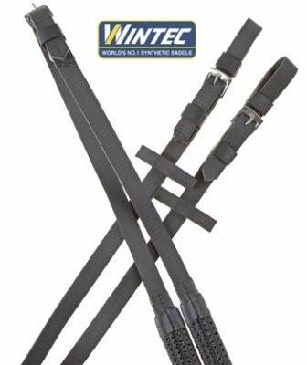 Wintec Cushion Grip Reins 54 Inch Black