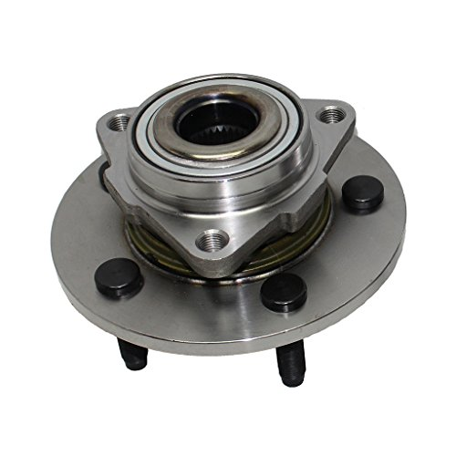 Detroit Axle Front Wheel Hub and Bearing Assembly - Driver or Passenger Side [NO ABS ON HUB] [2002-2008 Dodge Ram 1500] No ABS on ()