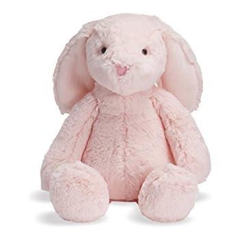 Amazon Com Manhattan Toy Lovelies Pink Binky Bunny Stuffed Animal
