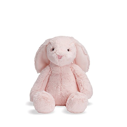 Manhattan Toy Lovelies Pink Binky Bunny Plush Animal Toy, 8
