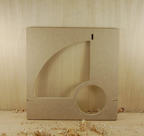 Bowl and Tray Template Quarter Section w/ Center