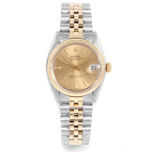 Rolex 6827 Ladies 31mm Datejust Model - Champagne Dial - Jubilee Bracelet (Certified Pre-Owned)