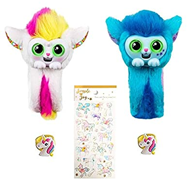 Little Live Wrapples 2-Pack Gift Bundle - UNA and SKYO: Toys & Games