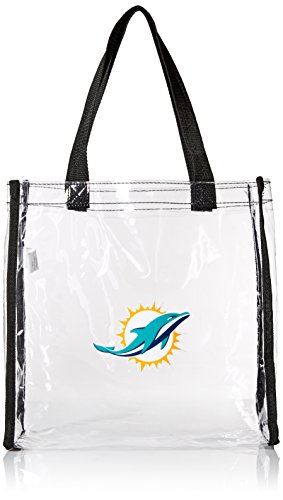 NFL Miami Dolphins Clear Reusable Bag, Green