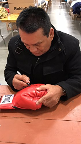 Roberto Duran Signed Red Everlast Right Hand Boxing Glove JSA