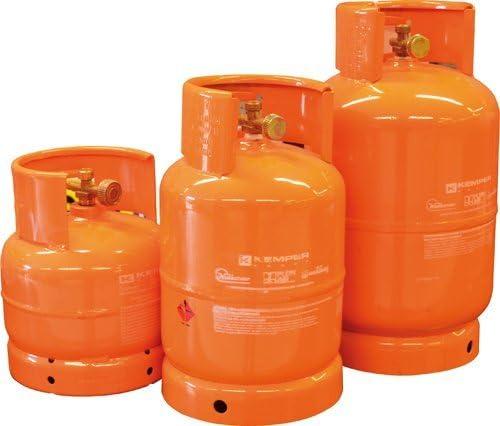 Bombona gas para camping GPL recargable – con grifo ...
