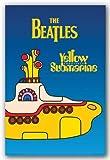 (24x36) The Beatles (Yellow Submarine) Music Poster Print