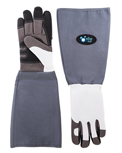 Olive & Suds: Scratch/Bite Resistant Gloves For Bathing, Grooming & Handling Cats, Small Dogs, Birds, Rodents & Other Small Animals
