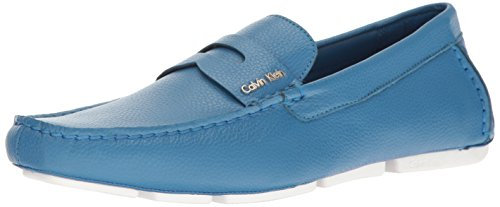 Image of Calvin Klein Men's Martyn Tumbled Leather Slip-On Loafer