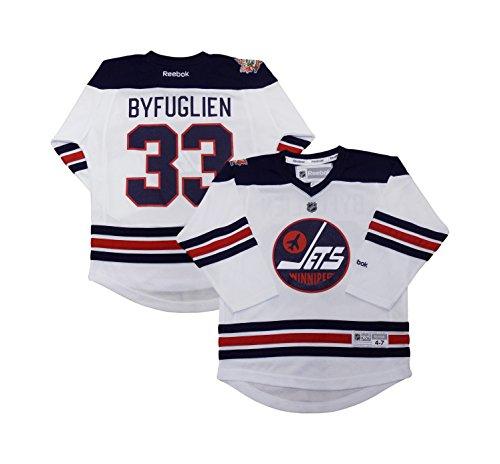 OuterStuff Dustin Byfuglien Winnipeg Jets Reebok Heritage Classic White Replica Toddler Jersey (Toddler 2T-4T)