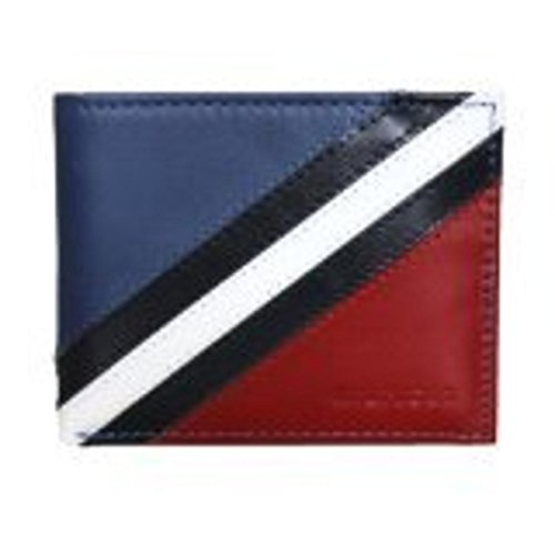 Tommy Hilfiger Multi Color Passcase & Velet Bifold Wallet