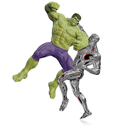 Hallmark Marvel - Avengers: Age of Ultron - The Hulk vs. Ultron Ornament 2015