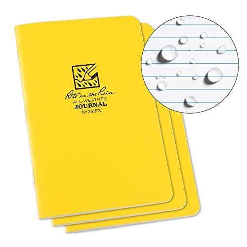 Rite in the Rain Weatherproof Stapled Notebook, 4 5/8