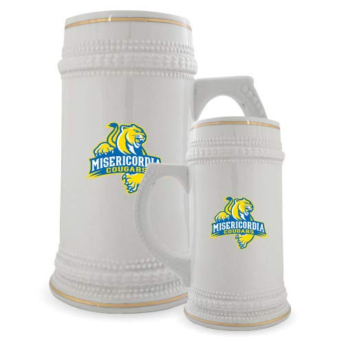 Misericordia Full Color Decorative Ceramic Mug 22oz 'Misericordia Official Logo' by CollegeFanGear